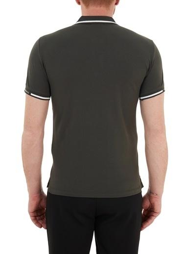 Emporio Armani  Pamuklu Düğmeli Polo T Shirt Erkek Polo S 6H1Ff5 1Jptz 0564 Haki